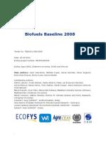 2011 Biofuels Baseline 2008