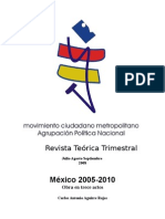 México 2005-2010, obra en trece actos