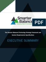 Technology Strategy Framework Executive Summary 2-6-13
