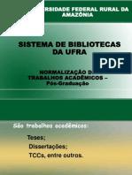 067_TREINAMENTO DE NORMALIZAÇÃO PÓS-GRADUAÇÃO.
