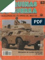 Maquinas de Guerra 063 - Blindados de Ruedas Modernos (2ª Parte)