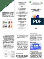 PROEX - Folder - Programa de Formação Continuada em Mídias na Educação