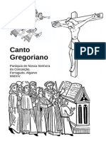 Manual Primeiro Grau Canto Gregoriano