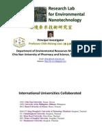 Liao's Research Profile
