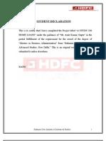 A STUDY ON HOME LOANS (RAJNI) (MBA-3RD SEM -FINANCE)(COL-RDIAS) DELHI