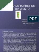 DISEÑO DE TORRES DE ENFRIAMIENTO