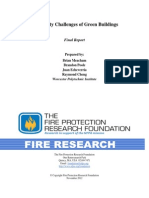 Fire Safety Green Buildings