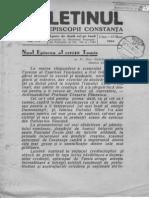 1944 Buletin Sf. Ep Constanta II, 1-5