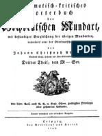 Adelung, Johann - Grammatikalisch-kritisches Wörterbuch M-Scr (1798)
