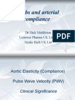 Herbs and Arterial Compliance - Dick Middleton
