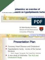Hypocholesterolaemic Herbs - Rafe Bundy