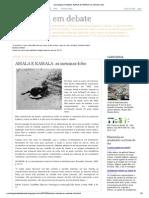 Sociologia Em Debate_ AMALA E KAMALA_ as Meninas-lobo