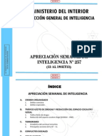 Mininter - Aprec. Sem. Intelig. 257- 13 Al 19set13