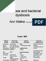 Diarrhoea and Dysbiosis - Ann Walker