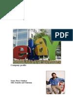 Ebay Finalize Project