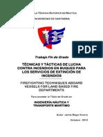 Combate Incendio Buques