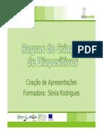 Apresentações_Regras