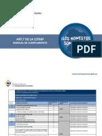 1.3 Manual de Cumplimiento Art. 7 Lotaip