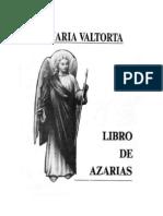 Libro de Azarias Maria Valtorta