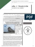 Montaña y Tradición_ - EL MONTE KOGAION, ZALMOXIS Y EL ORIGEN DE LOS HOMBRES LOBO