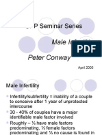 Male Infertility - Peter Conway