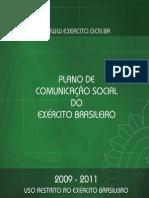 comunicação social do EB Plano2009-2011