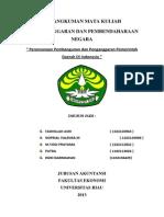 Perencanaan Pembangunan Dan Penganggaran Pemerintah Daerah Di Indonesia