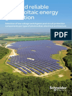 Application Guide - Safe and Reliable Photovoltaic Energy Generation