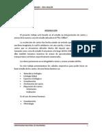 Rio Chillon - Estudio de cantos y arenas