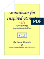 Manifesto for Inspired Parenting- Raising Happy, Inspirational Children