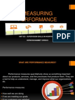 Measuring Performance - Kerim Muhammet Direkci