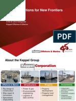 Keppel - Pareto Presentation 2013