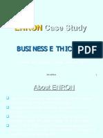 ENRON Case Study