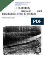 Libertos e Sujeitos- Afranio Garcia