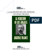France, Anatole - La Rebelion de Los Angeles