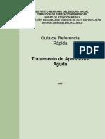 GRR Tratamiento de Apendicitis