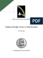 John Gage - Turner Medal Lecture 2009 - Emulous of Light