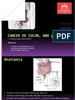 Cancer de Colon y Cancer Anorectal