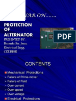 Protection of alternators