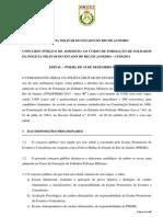 Edital CFSD 2013 - Republica o