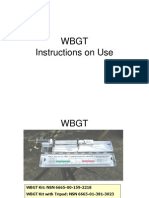 WBGT Instructions
