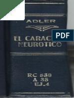 ADLER, EL CARACTER NEUROTICO.pdf