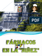 farmacos EN LA NIÑES MODIFICADO
