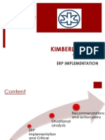 KIMBERLY CLARK VIETNAM ERP implementation