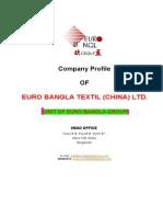 Company Profile-Euro Bangla Textils
