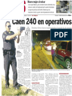 Policiaca  30 de diciembre 2013