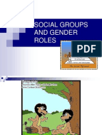 Lecture on Social Groups and Gender Roles