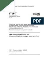 T REC M.3200 TMN Management Services[1]