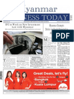 Myanmar Business Today - Vol 2, Issue 1