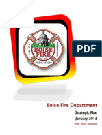 Boise Fire Department Strategic Plan 2013